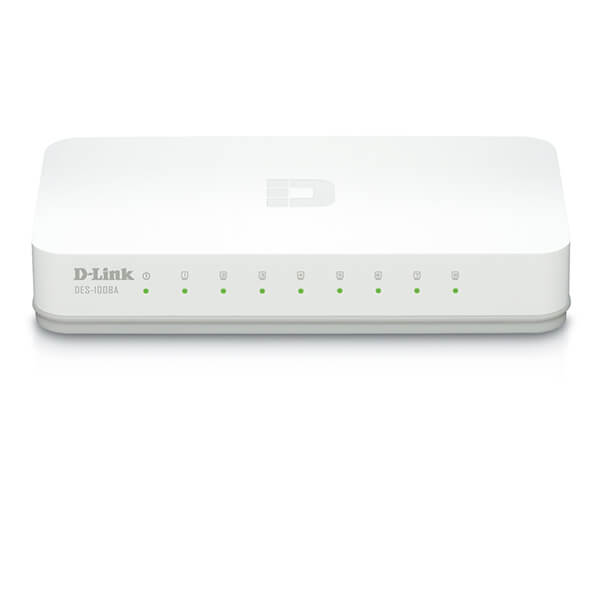 D-Link Switching 10/100Mbps 8 Port 1008A